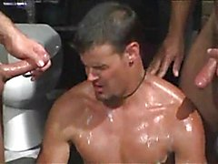 Settle in for a fantastic compilation that features gay cumshots flying. There are facials, ...