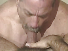 Bear blown by sexy bear
