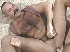 The vintage video is pure gay bear pleasure as two guys