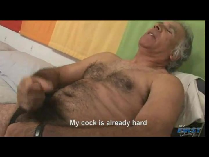 Old male masterbating, Super small boobs