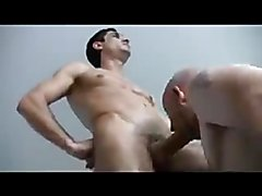 Guy Shoves Big Cock In His BF Ass With No Condom
